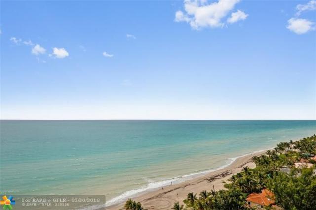 3180 S Ocean Dr #1512, Hallandale, FL 33009 (MLS #F10124823) :: Green Realty Properties