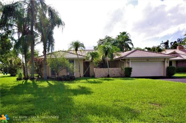 111 SW 101st Way, Coral Springs, FL 33071 (MLS #F10125284) :: Green Realty Properties