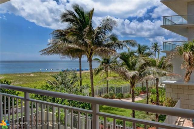 710 N Ocean Blvd #210, Pompano Beach, FL 33062 (MLS #F10126301) :: Green Realty Properties