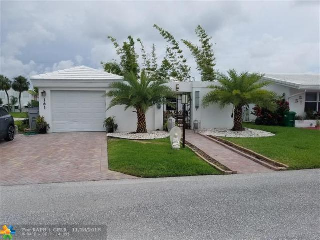161 NW 27th Ct, Pompano Beach, FL 33064 (MLS #F10126923) :: Green Realty Properties