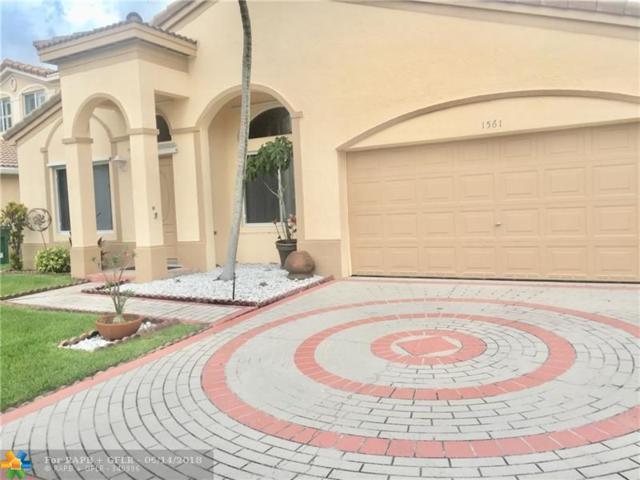 1561 SW 106th Ter, Davie, FL 33324 (MLS #F10127387) :: Green Realty Properties