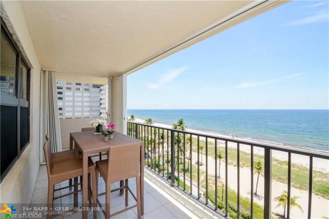 5000 N Ocean Blvd #712, Lauderdale By The Sea, FL 33308 (MLS #F10128216) :: Green Realty Properties
