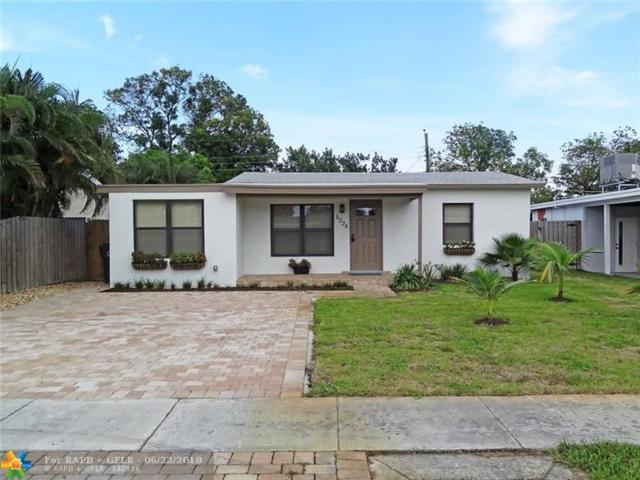 5224 NE 2nd Terrace, Oakland Park, FL 33334 (MLS #F10128460) :: Green Realty Properties
