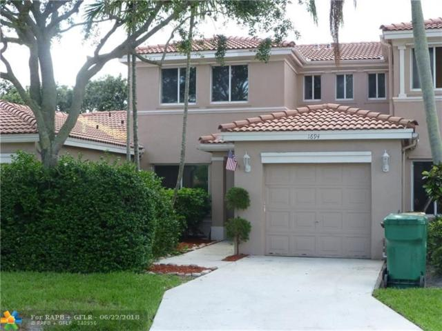 1694 SW 109th Ter #1694, Davie, FL 33324 (MLS #F10128589) :: Green Realty Properties