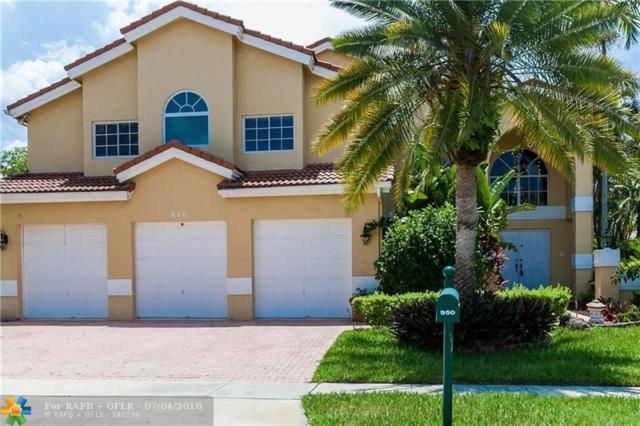 950 NW 199th Ter, Pembroke Pines, FL 33029 (MLS #F10129584) :: Green Realty Properties