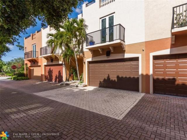 607 NE 11th Ave #607, Fort Lauderdale, FL 33304 (MLS #F10129734) :: Green Realty Properties