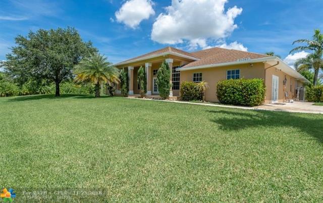 20367 Simone Drive, Loxahatchee, FL 33470 (MLS #F10129818) :: Green Realty Properties