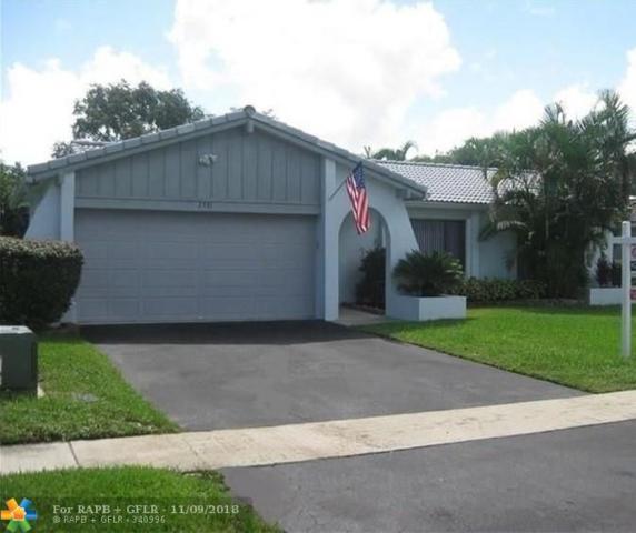 2531 NW 98th Ter, Coral Springs, FL 33065 (MLS #F10129928) :: Green Realty Properties