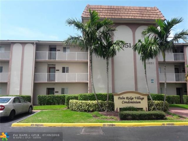 11651 Royal Palm Blvd #207, Coral Springs, FL 33065 (MLS #F10130020) :: Green Realty Properties