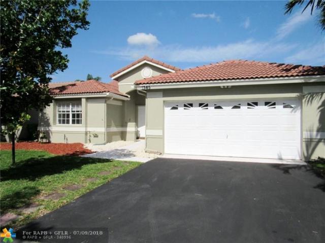 1345 NW 129th Way, Sunrise, FL 33323 (MLS #F10130852) :: Green Realty Properties