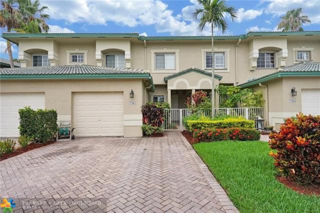 7951 Exeter Blvd W #101, Tamarac, FL 33321 (MLS #F10131745) :: Green Realty Properties