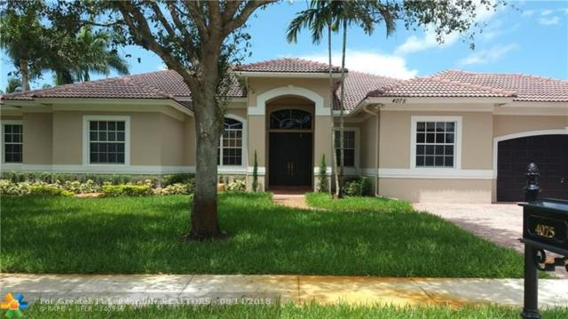 4075 SW 140th Ave, Davie, FL 33330 (MLS #F10132027) :: Green Realty Properties