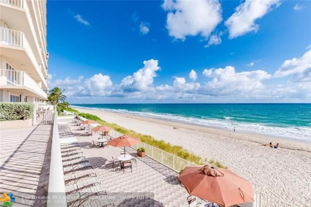 4100 Galt Ocean Dr #606, Fort Lauderdale, FL 33308 (MLS #F10132364) :: Castelli Real Estate Services