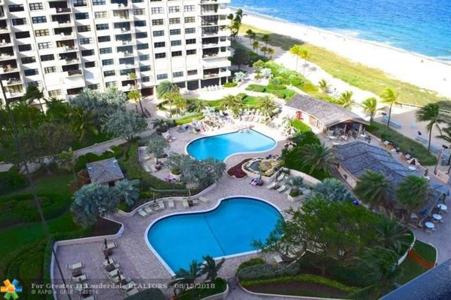 4900 N Ocean Blvd #1506, Lauderdale By The Sea, FL 33308 (MLS #F10132456) :: Green Realty Properties