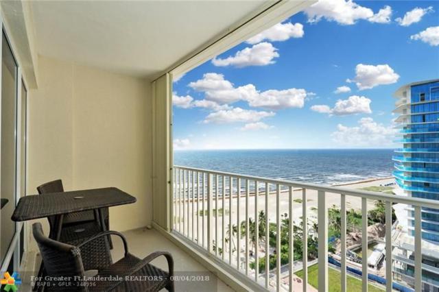 750 N Ocean Blvd #1605, Pompano Beach, FL 33062 (MLS #F10132820) :: Green Realty Properties