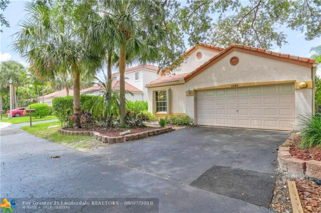 1040 NW 107th Ave, Plantation, FL 33322 (MLS #F10133059) :: Green Realty Properties