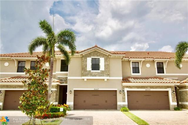 8447 Lakeview Trl #8447, Parkland, FL 33076 (MLS #F10133730) :: Green Realty Properties