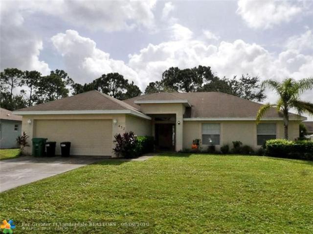 432 SW Nativity Terr, Port Saint Lucie, FL 34984 (MLS #F10134799) :: Green Realty Properties