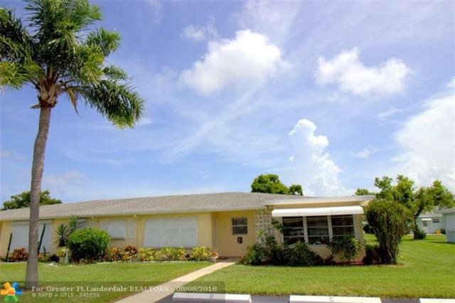 210 High Point Ct D, Delray Beach, FL 33445 (MLS #F10134821) :: Green Realty Properties