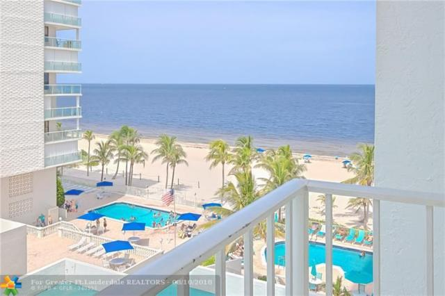 1010 S Ocean Blvd #715, Pompano Beach, FL 33062 (MLS #F10135465) :: Green Realty Properties