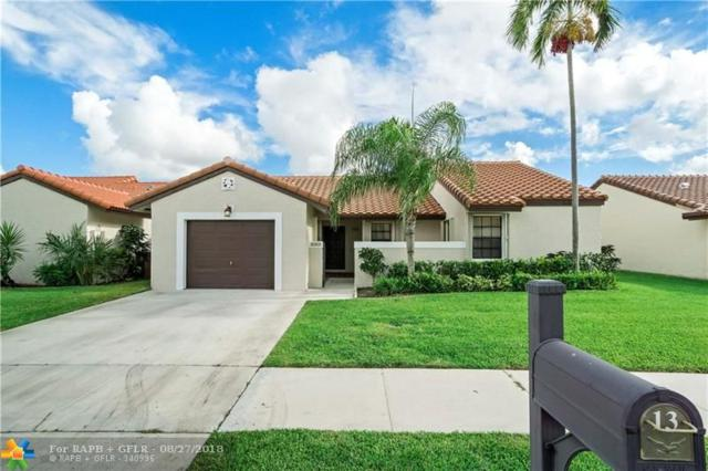 13 Columbia Ct, Deerfield Beach, FL 33442 (MLS #F10137380) :: Green Realty Properties