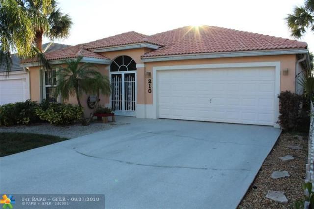 210 Saratoga Blvd East, West Palm Beach, FL 33411 (MLS #F10137427) :: Green Realty Properties
