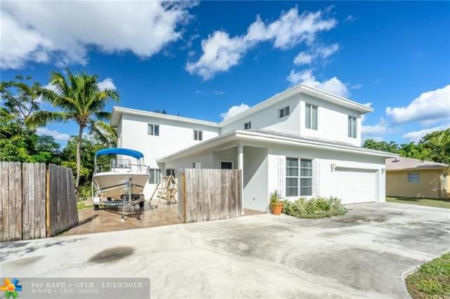 1865 NE 48th St, Pompano Beach, FL 33064 (MLS #F10137464) :: Green Realty Properties