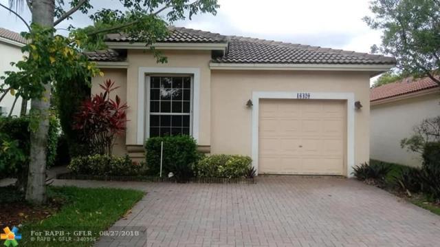 16420 Sapphire St, Weston, FL 33331 (MLS #F10138163) :: Green Realty Properties
