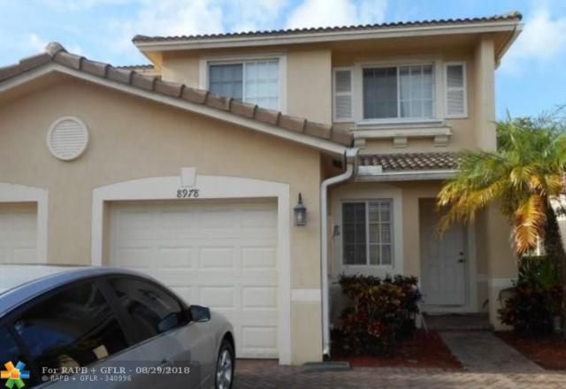 8978 Lancaster St #8978, Tamarac, FL 33321 (MLS #F10138396) :: Green Realty Properties