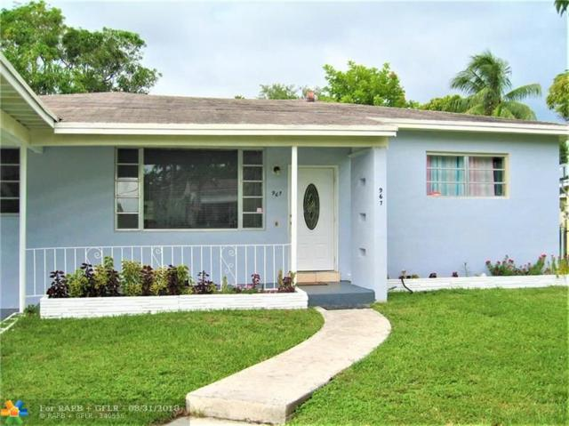 967 NE 145th St, North Miami, FL 33161 (MLS #F10138930) :: Green Realty Properties