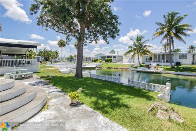 704 Marine Dr, Hallandale, FL 33009 (MLS #F10139045) :: Green Realty Properties