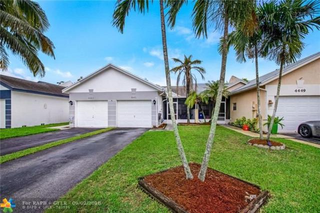 4445 NW 99th Way #4445, Sunrise, FL 33351 (MLS #F10139073) :: Green Realty Properties