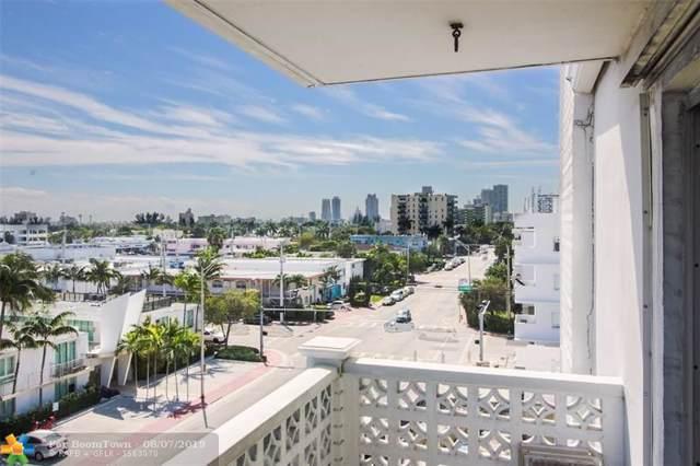 1614 West Ave #601, Miami Beach, FL 33139 (MLS #F10139095) :: Patty Accorto Team
