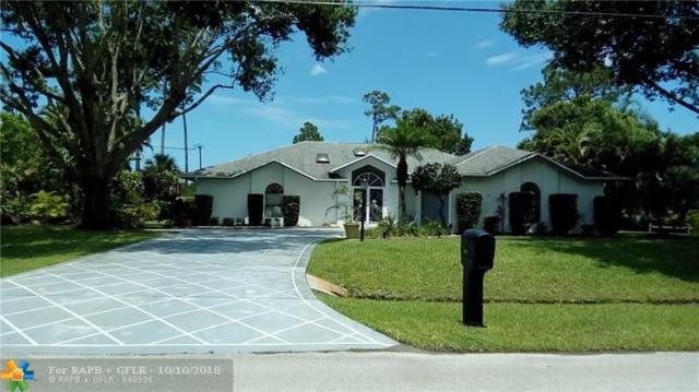 2685 SE Carthage Rd, Port Saint Lucie, FL 34952 (MLS #F10139903) :: Green Realty Properties