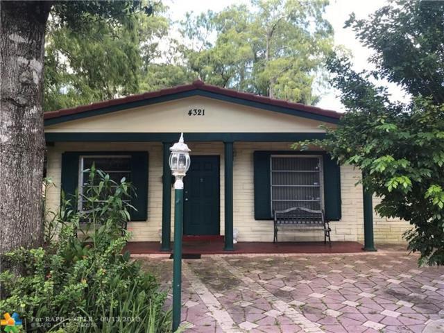 4321 NW 19th Ave, Oakland Park, FL 33309 (MLS #F10139987) :: Green Realty Properties