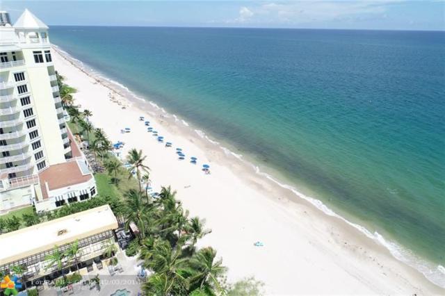1905 N Ocean Blvd 8E, Fort Lauderdale, FL 33305 (MLS #F10140786) :: Green Realty Properties