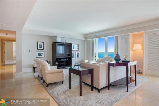 1 N Fort Lauderdale Beach Blvd #1608, Fort Lauderdale, FL 33304 (MLS #F10141116) :: Green Realty Properties