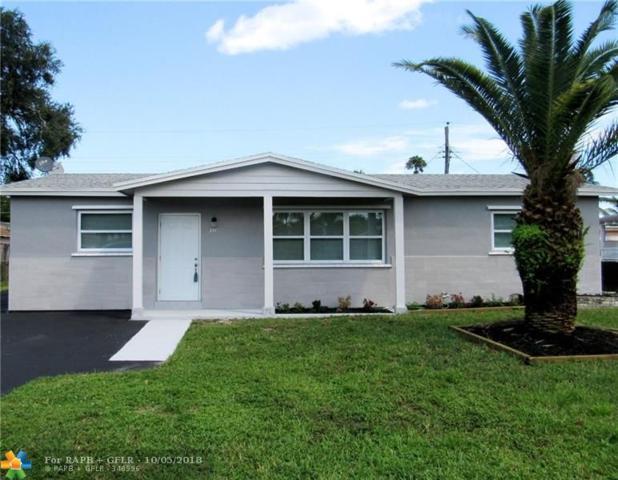 311 N 66th Ter, Hollywood, FL 33024 (MLS #F10141807) :: Green Realty Properties