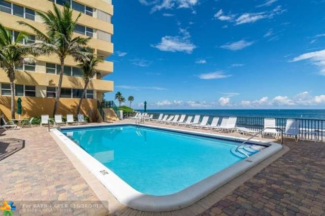 1238 SE Hillsboro Mile #307, Hillsboro Beach, FL 33062 (MLS #F10141986) :: Green Realty Properties