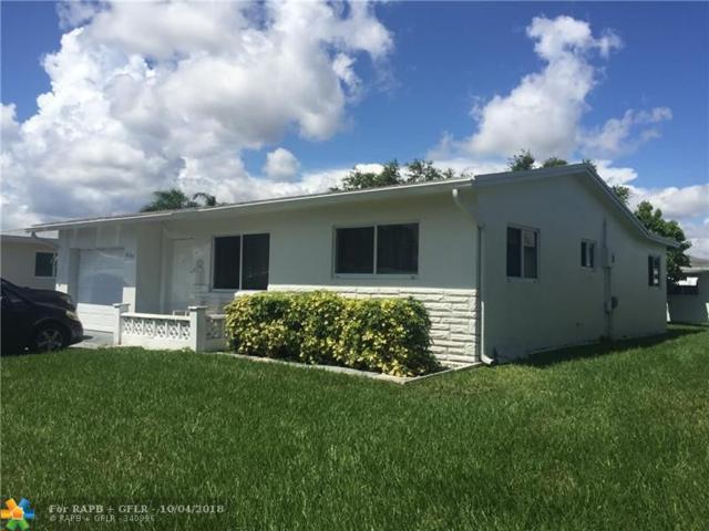 6785 Margate Blvd, Margate, FL 33063 (MLS #F10142734) :: Green Realty Properties