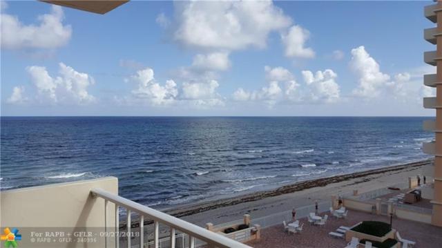 4505 S Ocean Blvd #405, Highland Beach, FL 33487 (MLS #F10142818) :: Green Realty Properties