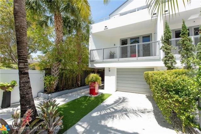 1509 NE 4th Pl #1509, Fort Lauderdale, FL 33301 (MLS #F10142928) :: Green Realty Properties
