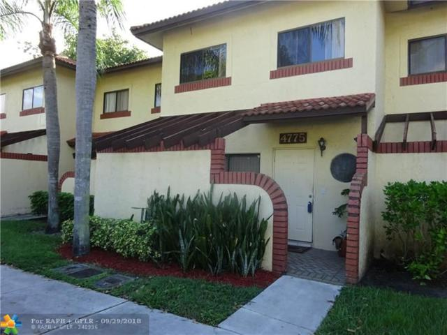 4775 NW 90th Ave #4775, Sunrise, FL 33351 (MLS #F10143165) :: Green Realty Properties