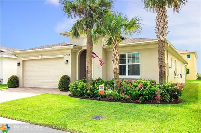 1386 NW Leonardo Circle, Port Saint Lucie, FL 34986 (MLS #F10143595) :: Green Realty Properties