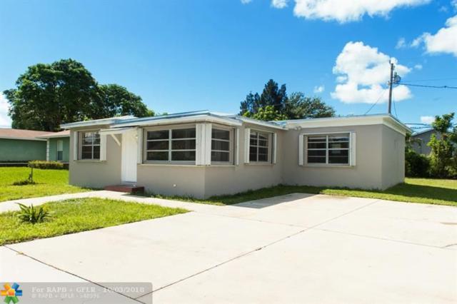 1325 W 32nd St, Riviera Beach, FL 33404 (MLS #F10143684) :: Green Realty Properties