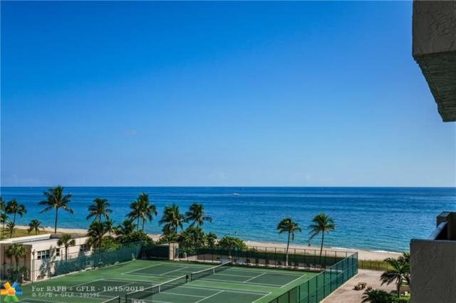 5100 N Ocean Blvd #702, Lauderdale By The Sea, FL 33308 (MLS #F10144015) :: Green Realty Properties