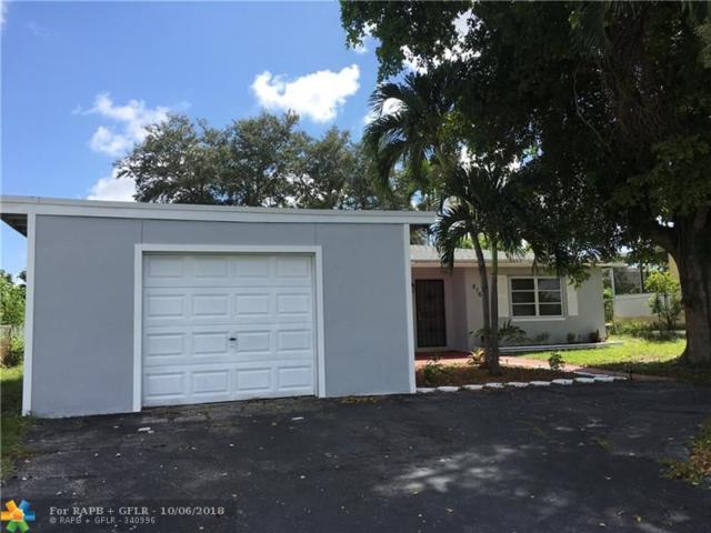216 NW 42nd, Plantation, FL 33317 (MLS #F10144108) :: Green Realty Properties