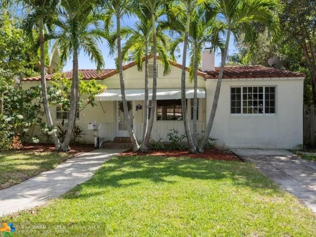 712 Ponce De Leon Dr, Fort Lauderdale, FL 33316 (MLS #F10144345) :: Green Realty Properties