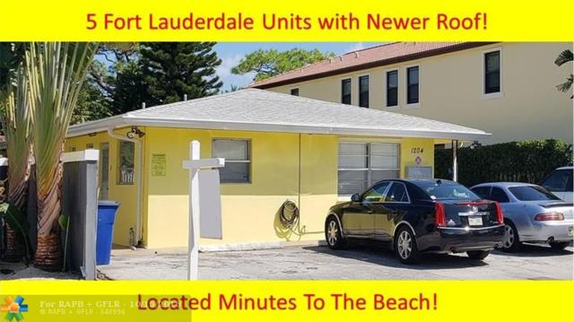 1204 NE 17th Way, Fort Lauderdale, FL 33304 (MLS #F10145230) :: Green Realty Properties