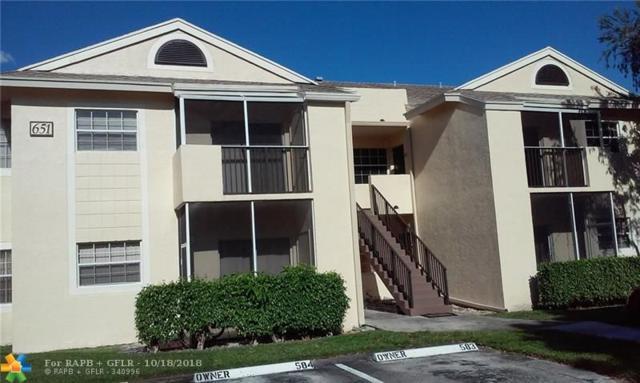 651 Cypress Lake Blvd D19, Pompano Beach, FL 33064 (MLS #F10145308) :: Green Realty Properties